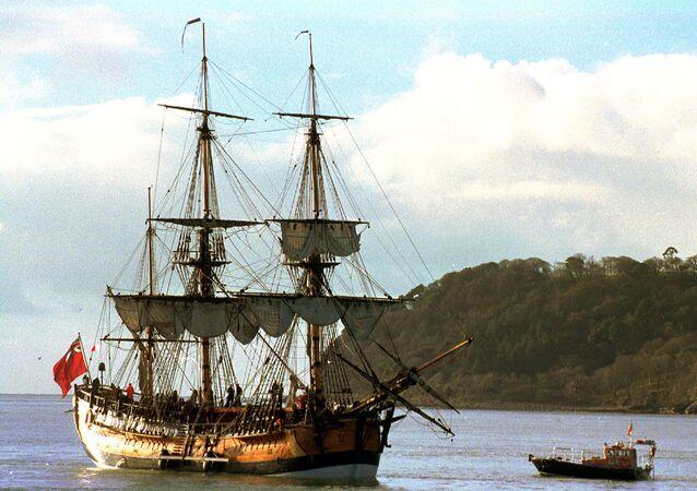 Kaptan Cook'un gemisinin replikası