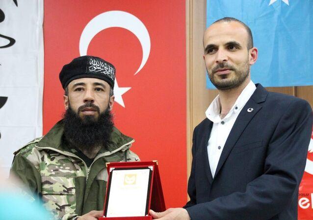 Anadolu Selçuklu Ocakları Derneği Malatya'da Türkmen direniş gecesi düzenledi. Geceye Sultan Abdülhamid Tugayı Komutanı Ömer Abdullah da katıldı.