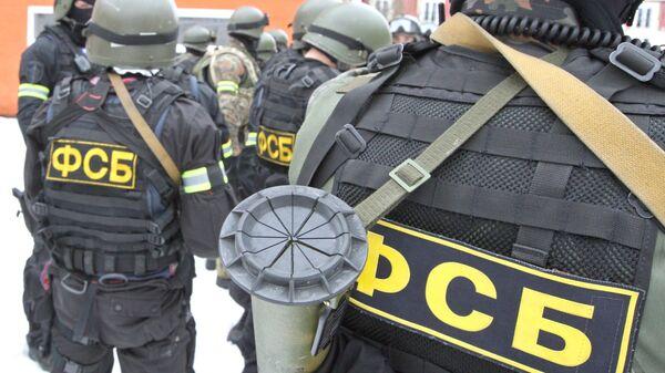 Rusya Federal Güvenlik Servisi (FSB) güçleri - Sputnik Türkiye