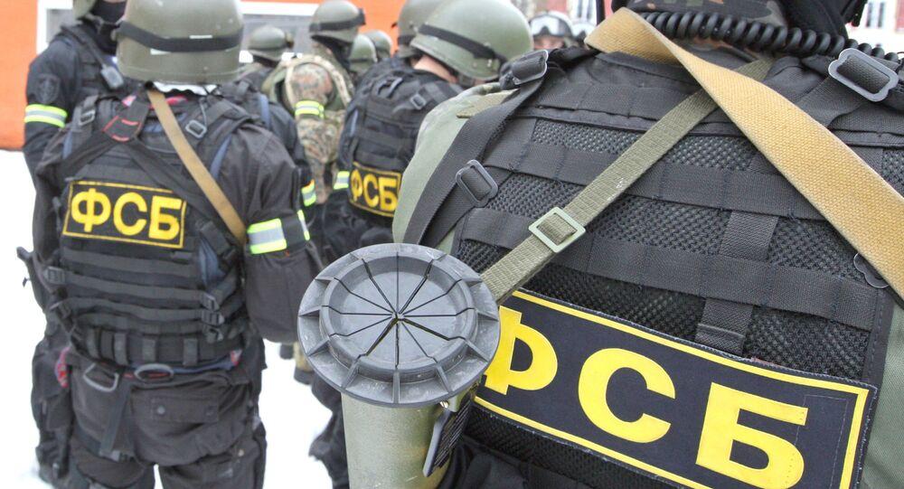 Rusya Federal Güvenlik Servisi (FSB) güçleri