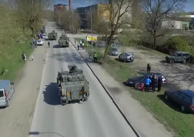 NATO'dan Rus sınırı yakınlarında tatbikat
