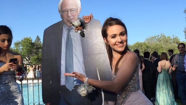 Mukavva Bernie Sanders - Sputnik Türkiye