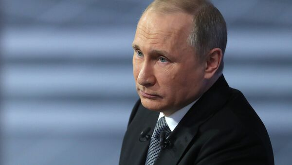 Direct Line with Vladimir Putin - Sputnik Türkiye