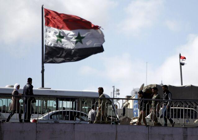 Suriye - Şam - Bayrak