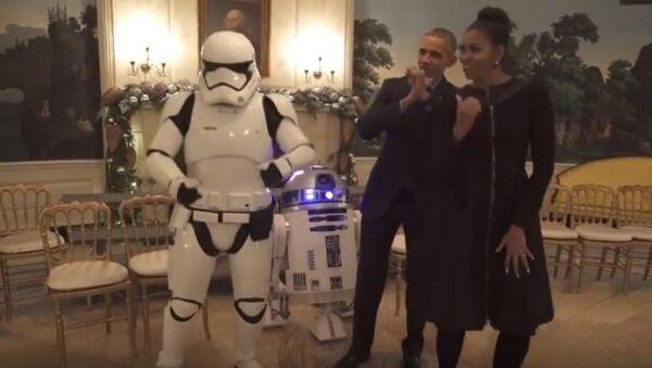 ABD Başkanı Barack Obama- First Lady Michelle Obama - Sputnik Türkiye