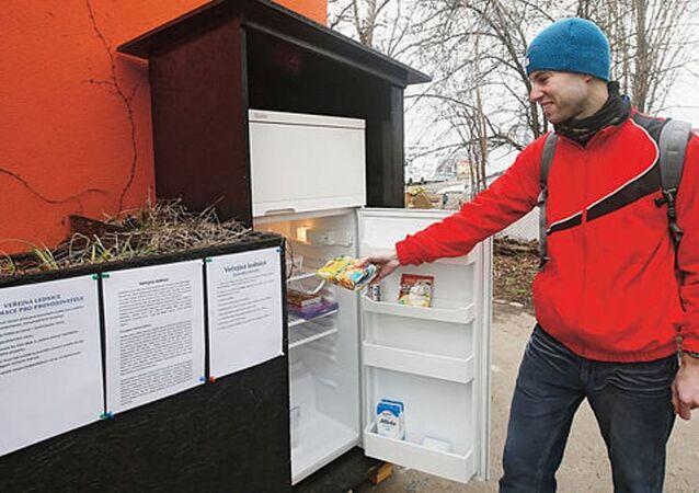 Prag'da umumi 'buzdolabı'