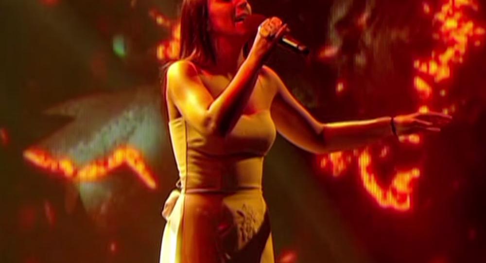 Eurovision'da Ukrayna'yı temsil eden Tatar-Ermeni kökenli şarkıcı Susana Cemaleddinova (Jamala)