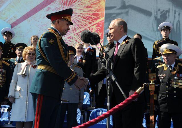 Vladimir Putin - Sergey Şoygu