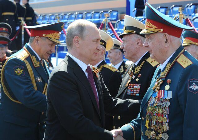 Vladimir Putin - Sergey Şoygu - Zafer Günü