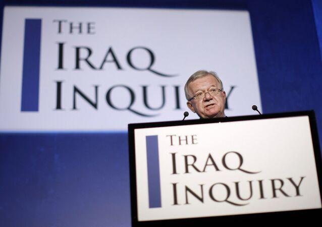 İngiltere'nin Irak savaşındaki rolünü ortaya koyan 'Irak soruşturmasını' yürüten Sir John Chilcot