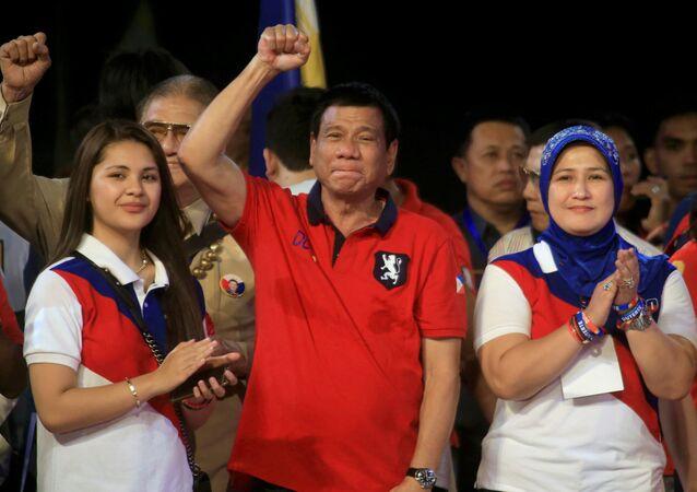 Filipinler Cumhurbaşkanı Rodrigo 'Digong' Duterte