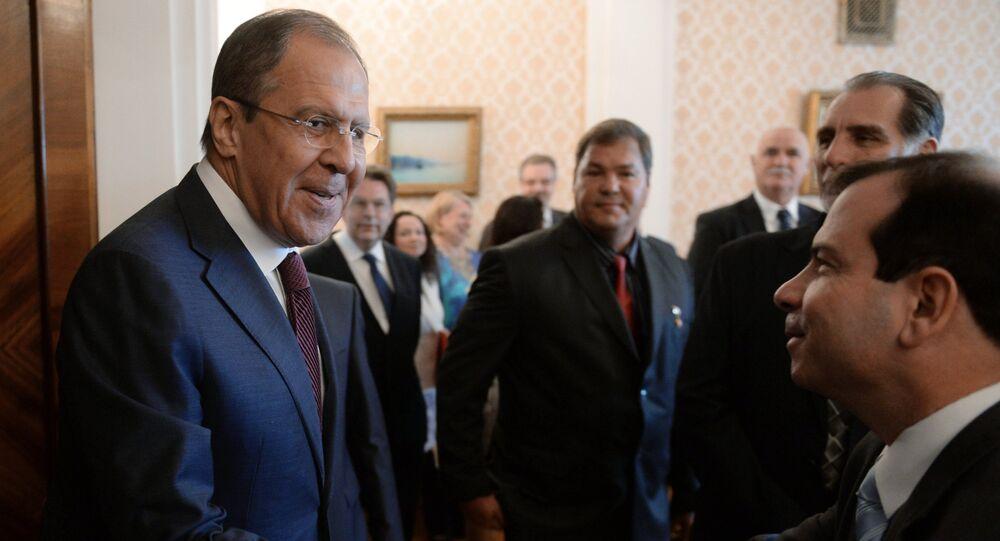 Sergey Lavrov - Küba Beşlisi
