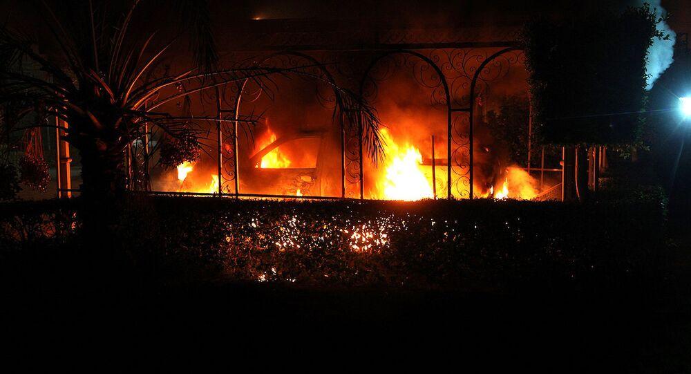 ABD'nin Libya Büyükelçiliği'ne yönelik saldırı
