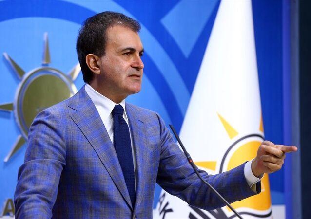 AK Parti Genel Başkan Yardımcısı ve Parti Sözcüsü Ömer Çelik, parti genel merkezinde basın toplantısı düzenledi.