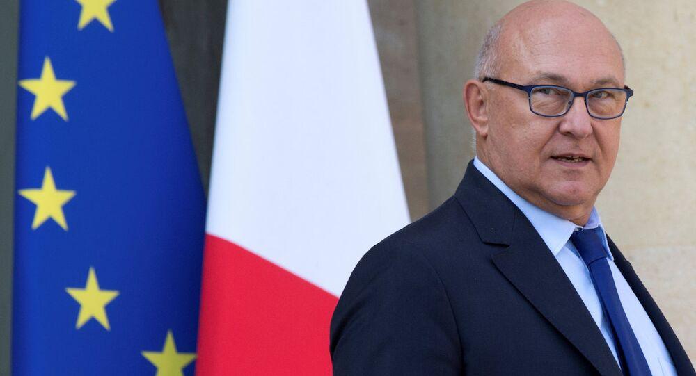 Fransa Maliye Bakanı Michel Sapin