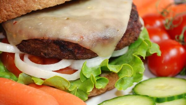 hamburger - Sputnik Türkiye