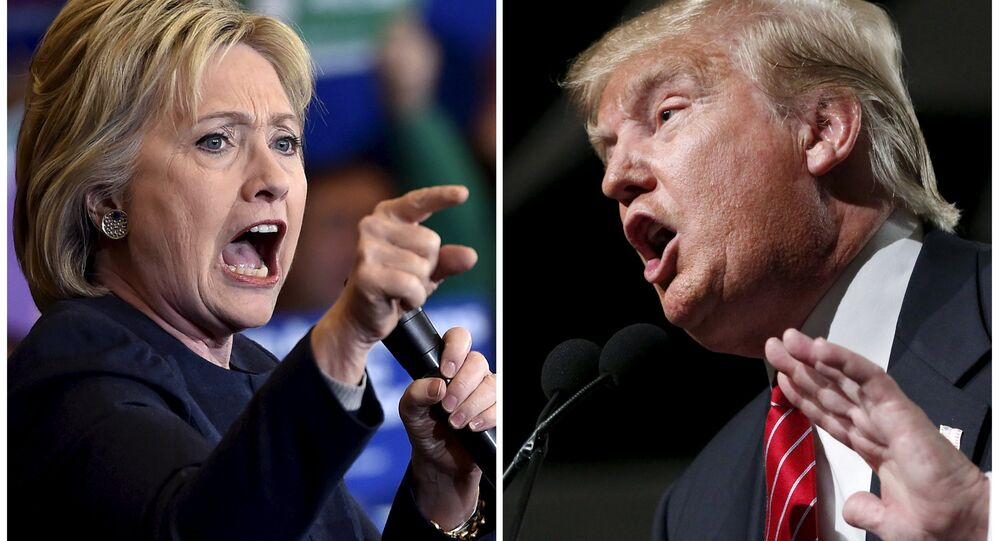 Demokrat Hillary Clinton ve Cumhuriyetçi Donald Trump