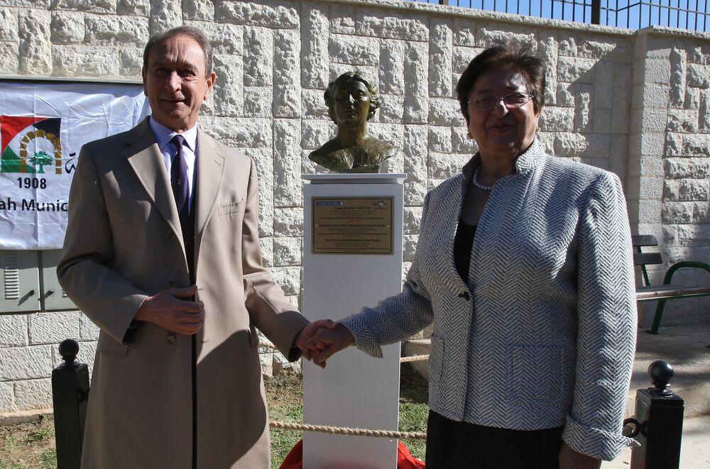 Filistin'in Ramallah kentinin belediye başkanı geçmişte Hristiyan olan Janet Mikail'di.