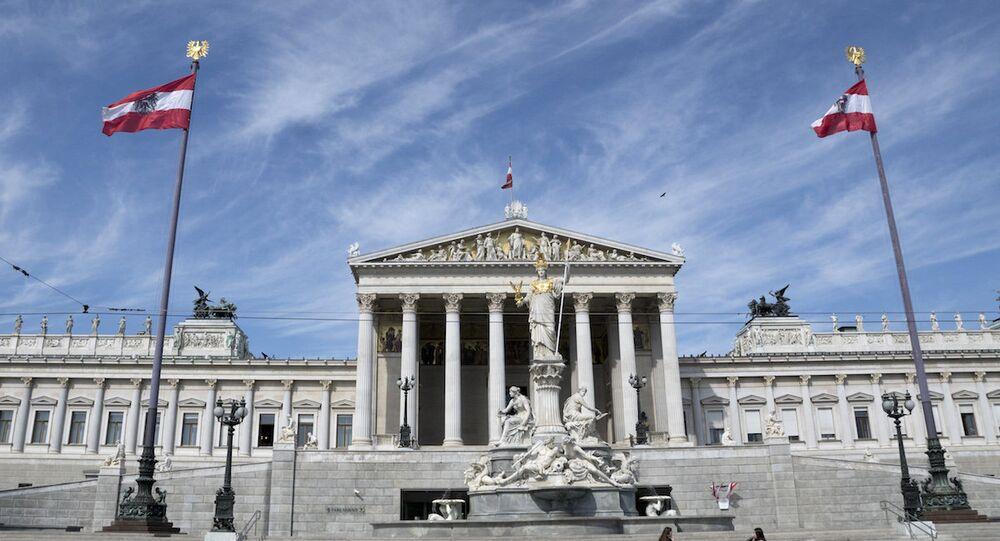 Viyana'daki Avusturya Parlamentosu
