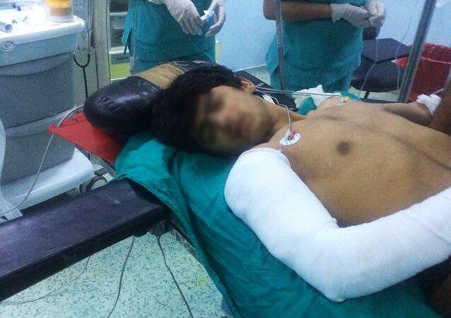 Gaziantep'te Devlet Hastanesi'nde tedavi edilen IŞİD üyeleri