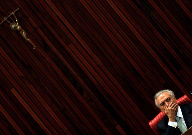 Brezilya Devlet Başkanı Michel Temer