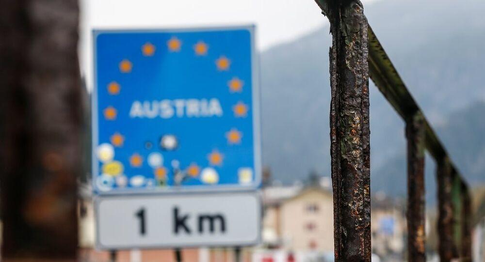 Avusturya-İtalya arasındaki Brenner sınır kapısı