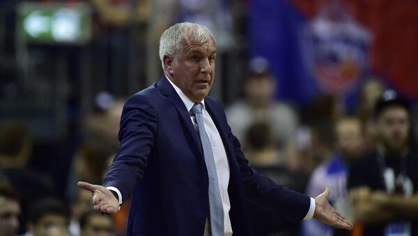 Fenerbahçe Basketbol Takımı Başantrenörü Zeljko Obradovic - Sputnik Türkiye