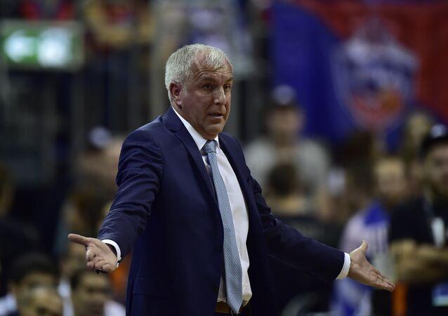 Fenerbahçe Basketbol Takımı Başantrenörü Zeljko Obradovic