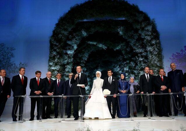 Sümeyye Erdoğan'ın nikahı