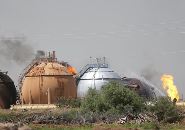 IŞİD, Irak'ta LPG fabrikasına saldırdı