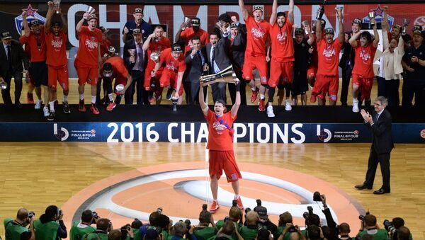CSKA Moskova Erkek Basketbol Takımı - Sputnik Türkiye