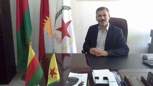PYD Irak Kürt Bölge Sorumlusu Xerip Huso - Sputnik Türkiye