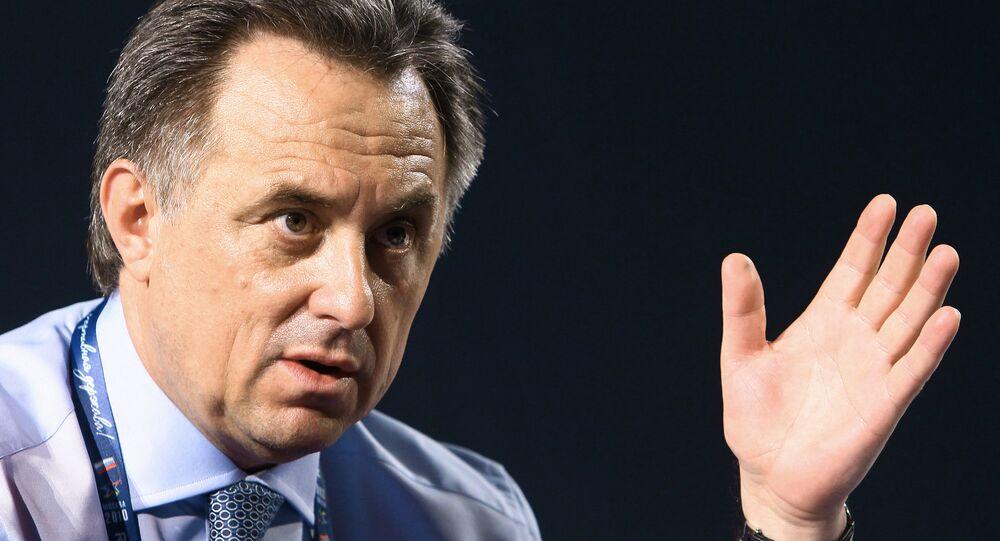 Rusya Spor Bakanı Vitaliy Mutko