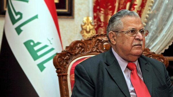 Irak'ın eski cumhurbaşkanı ve KYB lideri Celal Talabani - Sputnik Türkiye