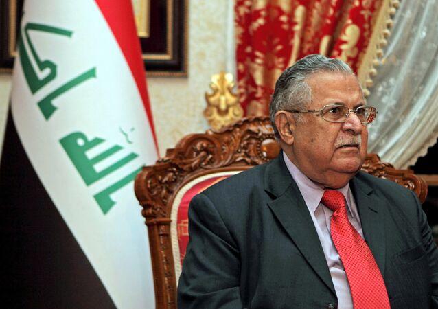 Irak'ın eski cumhurbaşkanı ve KYB lideri Celal Talabani