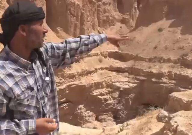 IŞİD'den temizlenen Suluk'ta bulunan toplu mezar