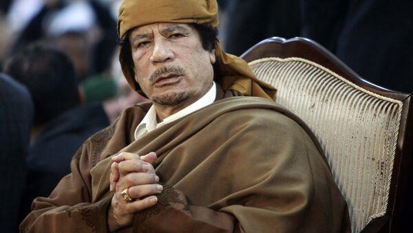 Muammer Kaddafi - Sputnik Türkiye