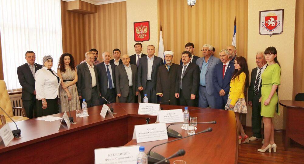 Kırım Cumhuriyeti Başkanı, Kırım Tatar Sürgünü'nü andı