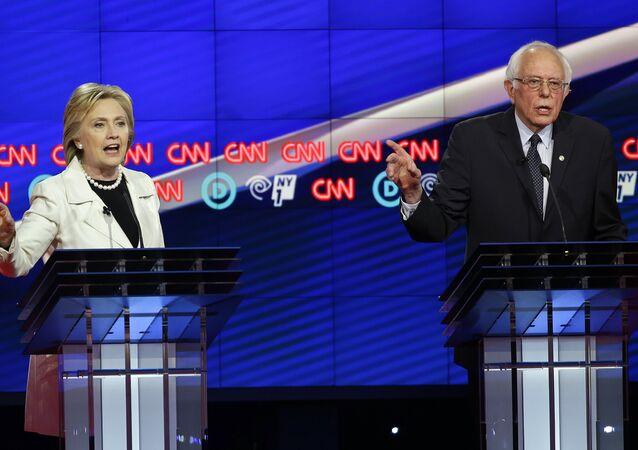 Hillary Clinton- Bernie Sanders