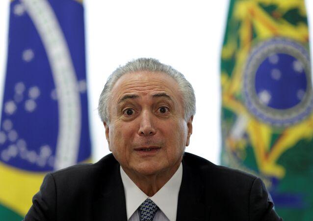 Brezilya'nın geçici lideri Michel Temer
