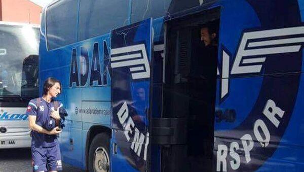 Adana Demirspor otobüsü - Sputnik Türkiye
