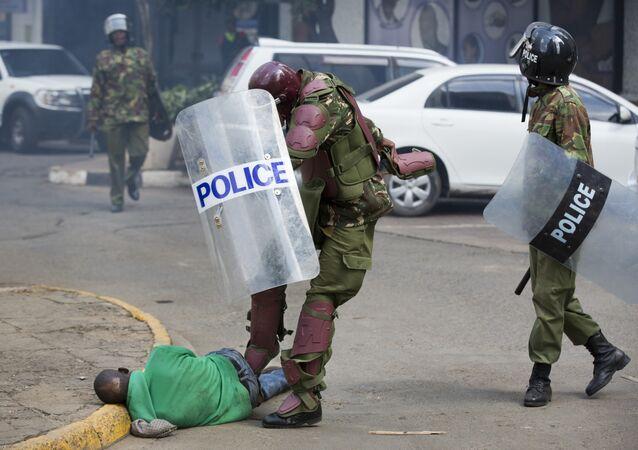 Kenya'da polis şiddeti