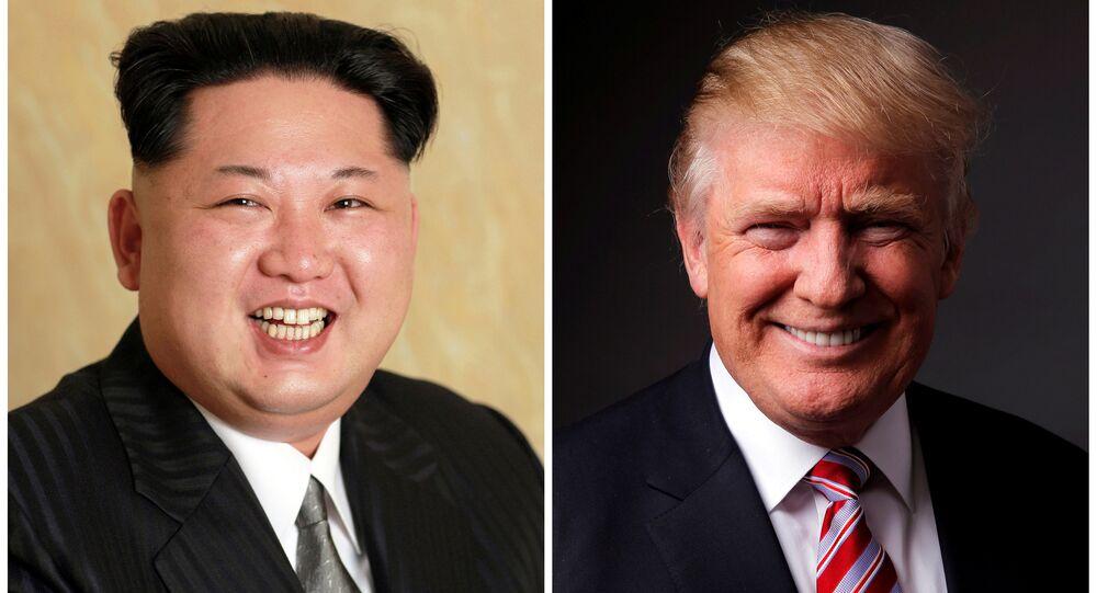 Kuzey Kore lideri Kim Jong-un- ABD başkan aday adayı Donald Trump