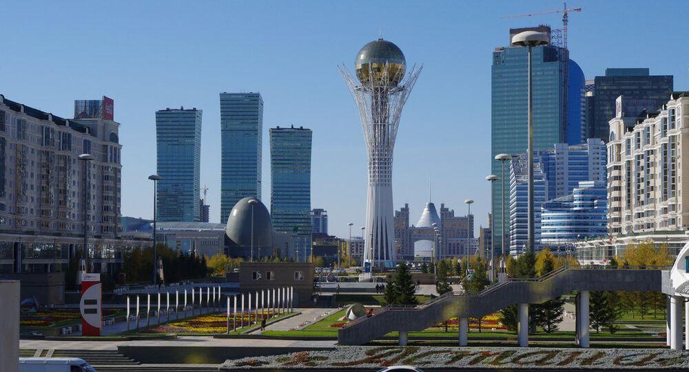 Central Downtown Astana, Kazakhstan