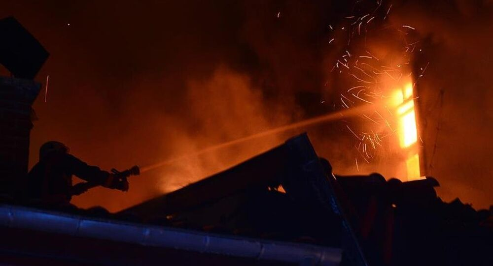 Ankara yangın