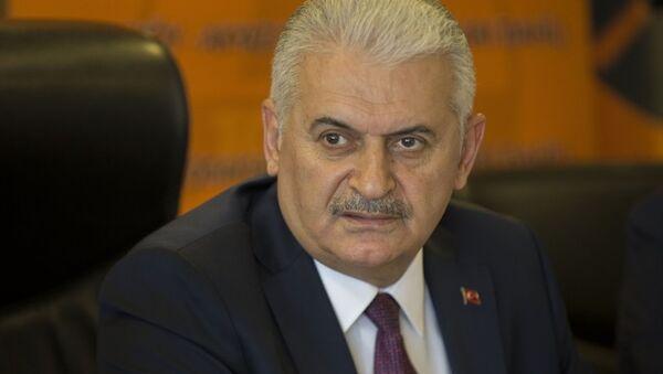 Ulaştırma, Denizcilik ve Haberleşme Bakanı Binali Yıldırım - Sputnik Türkiye