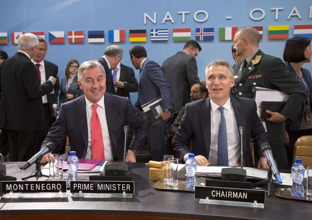 Jens Stoltenberg - Milo Dukanovic - Karadağ - NATO