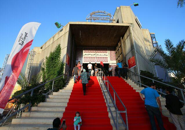 Gazze'deki 'Kırmızı Halı' film festivali