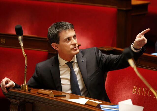 Fransa Başbakanı Manuel Valls.
