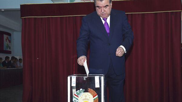 Tacikistan'da Devlet Başkanı İmamali Rahman - Sputnik Türkiye